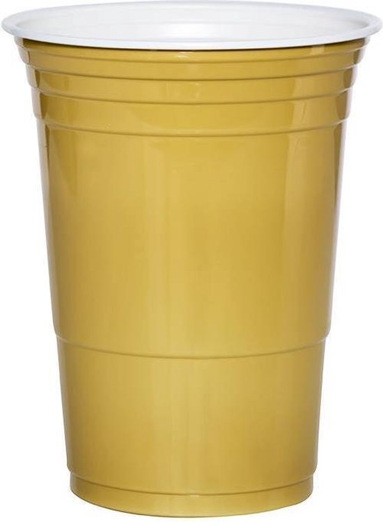Gold cups 473 ml 25 stuks