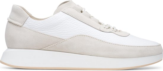Clarks Originals Kiowa Pace Heren Sneakers - White Combi - Maat 40