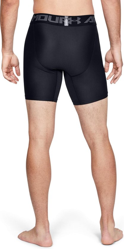 Under Armour - HG ARMOUR 2.0 COMP SHORT - Black - - Maat XXL