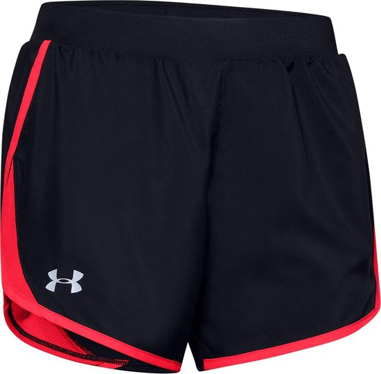 Under Armour W Fly By 2.0 Short Dames Hardloopbroek - Maat L - Black