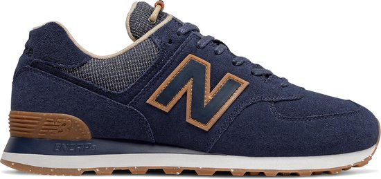 New Balance ML574 D Heren Sneakers - Navy - Maat 40