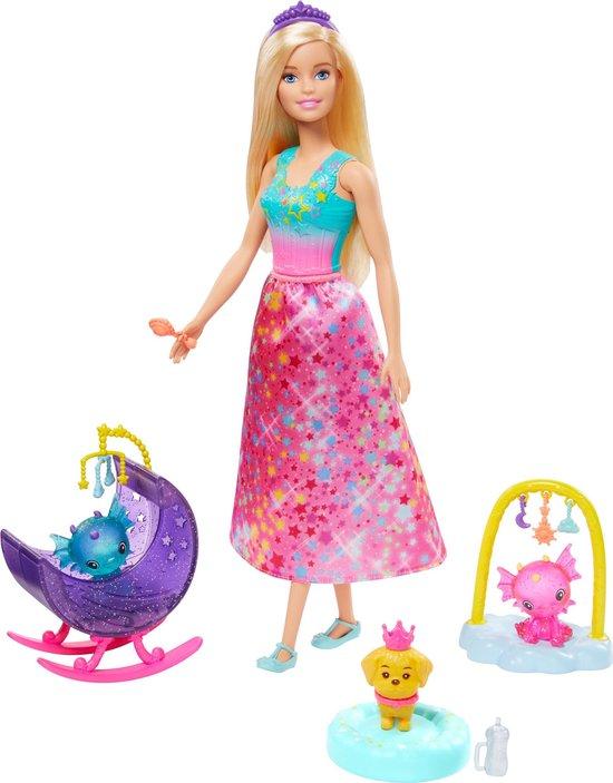 Barbie Dreamtopia Babykamer voor Draakjes Speelset - Barbiepop