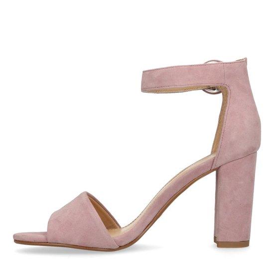 Manfield - Dames Roze Sandalen Met Hak Maat 40 WdzNCs