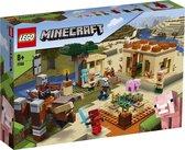 LEGO Minecraft De Illager Overval - 21160
