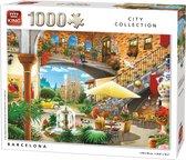 King Puzzel 1000 Stukjes - Barcelona