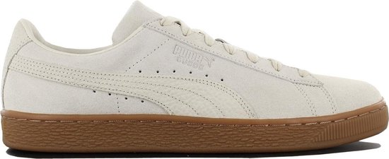Puma Suede Classic Sneakers - Maat 45 - Unisex - wit