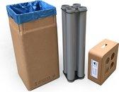 Afvalbox met beker-inzamelsysteem voor bekerdiam. 70 mm