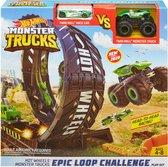 Afbeelding van Hot Wheels Monster Truck Looping Uitdaging Speelset speelgoed