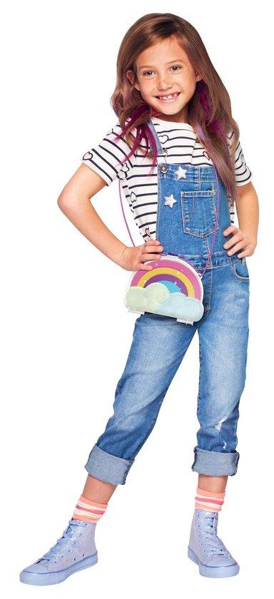 Polly Pocket Polly & Shani Regenboog tasje - Speelset