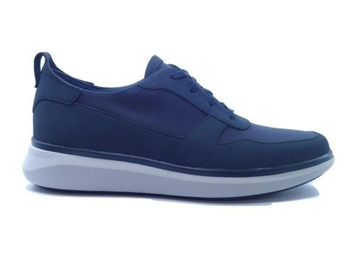 Clarks Un Globe Sport Sneaker Blauw 41 Sneakers