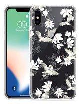 Apple iPhone Xs Max Hoesje White Bird