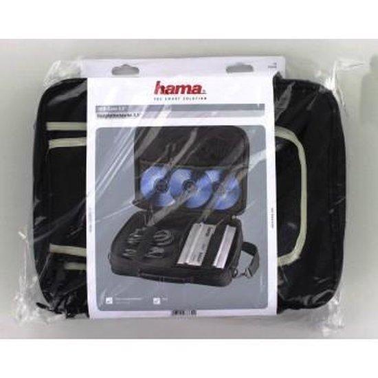 Hama Universal Case External Hard Drives, size L, black Nylon Zwart - Hama