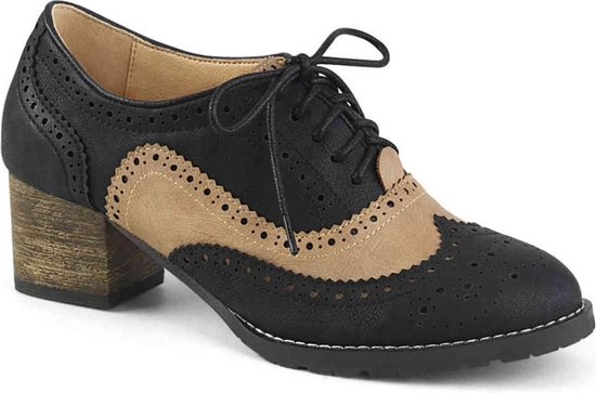 Pin Up Couture Lage schoenen 35 Shoes RUSSELL 34 US 5 ZwartBruin