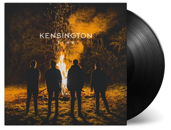 CD cover van Time (LP) van Kensington