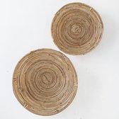 Moodadventures  Decoratie   Kataba Manden Set van 2   Ronde Manden