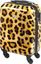 Princess Traveller Leopard Handbagage Koffer – 55 cm – 30 l. – Panter print