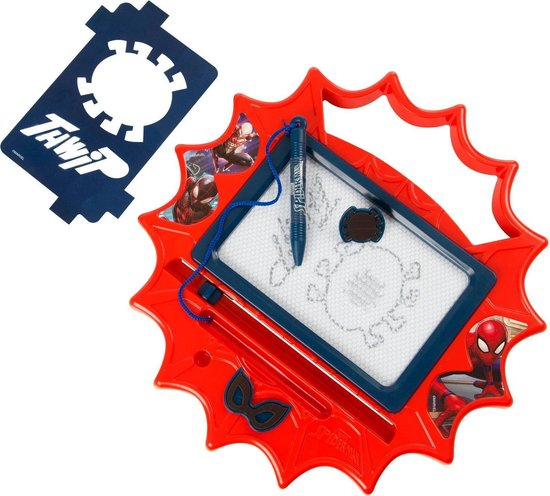 Afbeelding van het spel Spiderman magisch tekenbord klein