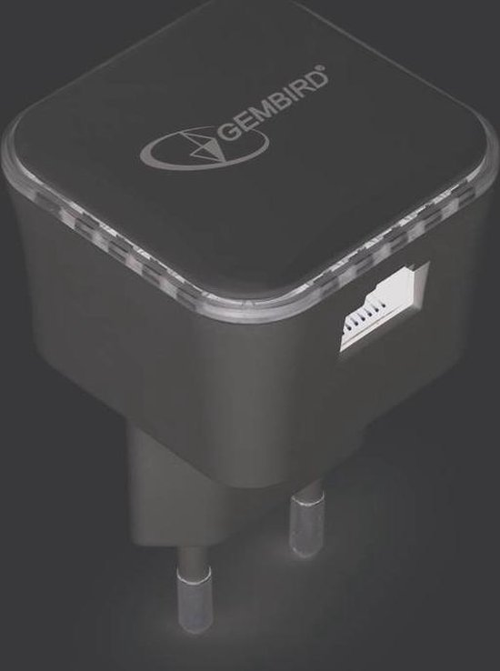 Gembird WNP RP300 01 - wifi versterker - 300 Mbps