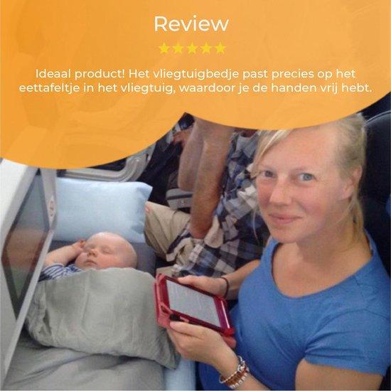 DERYAN Air-Traveller Vliegtuigbedje - Reiskussen met matras
