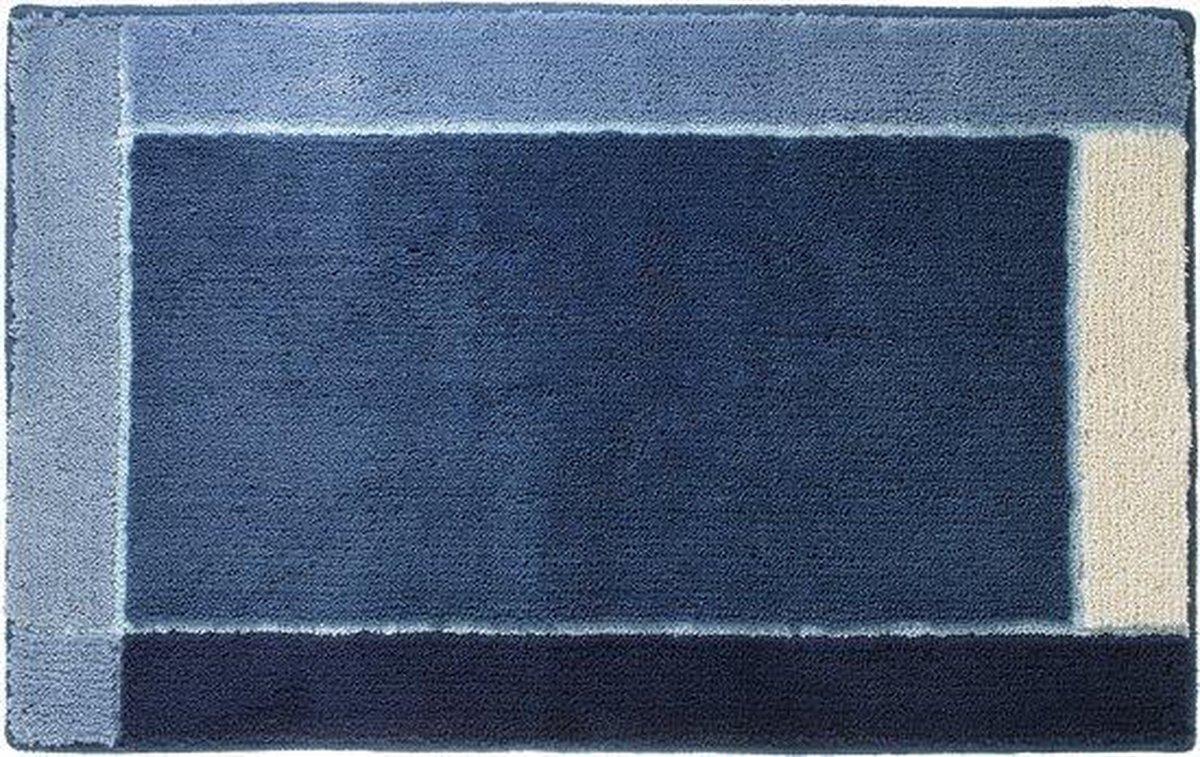 Sealskin Roma Badmat 55x85 cm - Acryl - Blauw - Sealskin