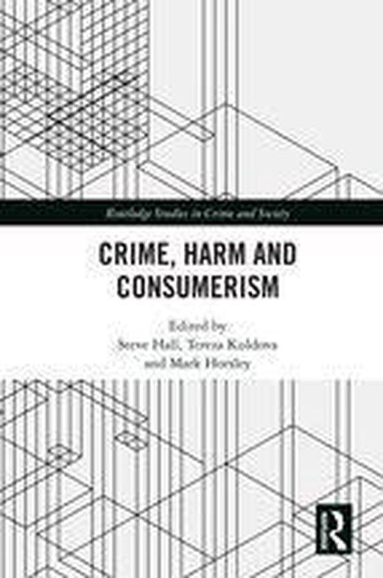 Omslag van Crime, Harm and Consumerism