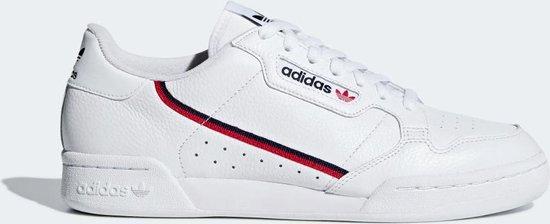 Adidas Continental 80 Wit- Heren  Sneakers - G27706 - Maat 47 1/3