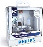 Philips WhiteVision Halogeenlamp - H7 Autolamp - 12V - 2 stuks