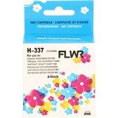 FLWR - Inktcartridge / 337 / Zwart - Geschikt voor HP