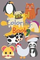 Animal Coloing Book