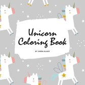 Cute Unicorn Coloring Book for Children (8.5x8.5 Coloring Book / Activity Book)