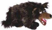 Living puppet Handpop wolf 50cm buikspreekpop sprookjes