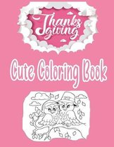 Cute Thanksgiving Coloring Book