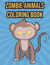 Zombie Animals Coloring Book