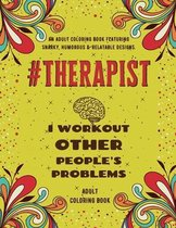 Therapist Adult Coloring Book