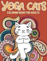 Yoga Cat Coloring Book
