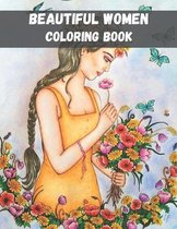 Beautiful Women Coloring Book