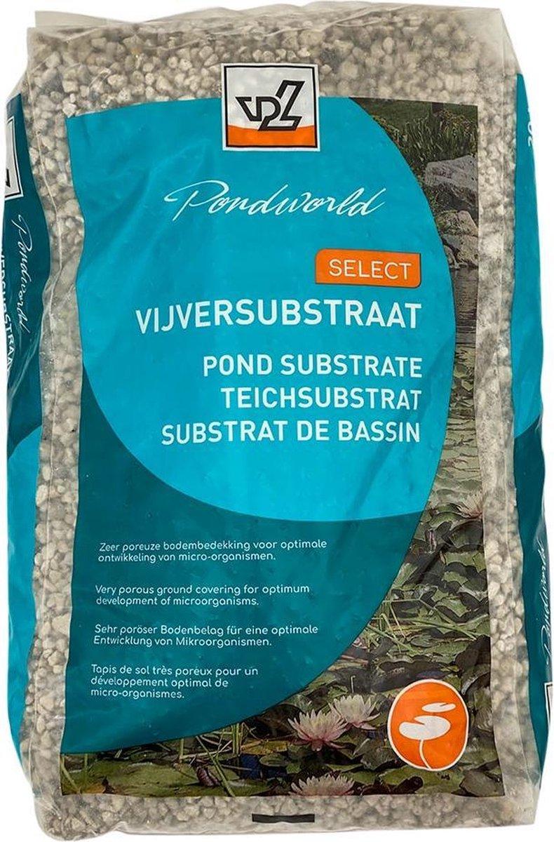 Vijver Substraat Poreus - 20 liter - Van der Velde Waterplanten