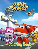 Super Wings Coloring Book