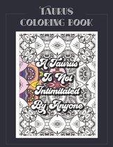 Taurus Coloring Book