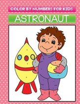 color by numbers for kids astronaut
