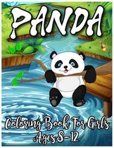 Panda Coloring Book For Girls Ages 8-12
