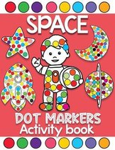 space dot markers activity book
