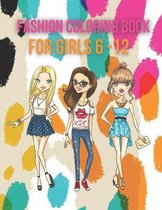 Fashions Coloring Book For Girls
