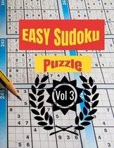 EASY Sudoku Puzzle Vol 3