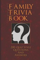 Family Trivia Book