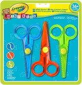 Crayola Mini Kids Veilige Kinderscharen - 3 stuks/kleuren