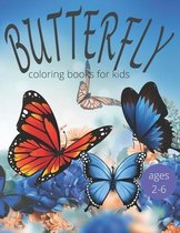 Butterfly coloring books for kids ages 2-6
