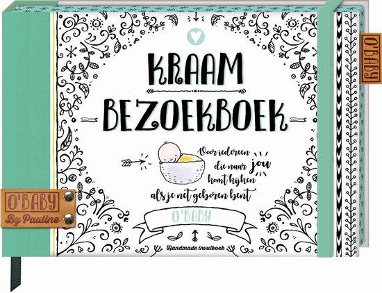 Boek cover OBaby by Pauline 3 -   Kraambezoekboek (OBaby by Pauline) van Pauline Oud (Hardcover)