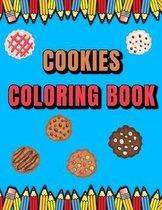 Cookies Coloring Book