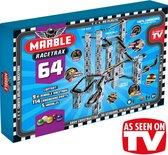 Marble Racetrax - Knikkerbaan - Racebaan - Grand Prix Set - 64 Sheets - 9 Meter